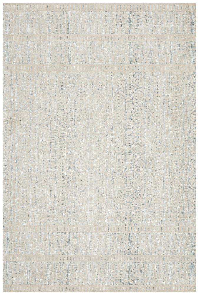 Levi Lucy Blue Green Rug