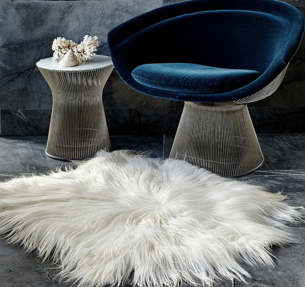 LUXE LOVER Himalayan GOATSKIN white