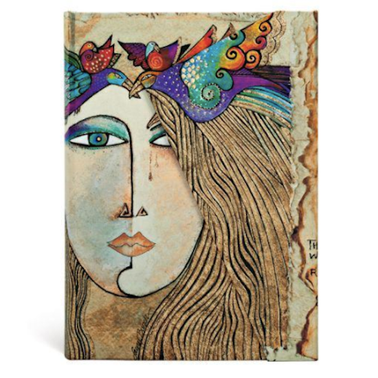 Laurel Burch Soul and Tears Midi Lined  Notebook Paperblanks