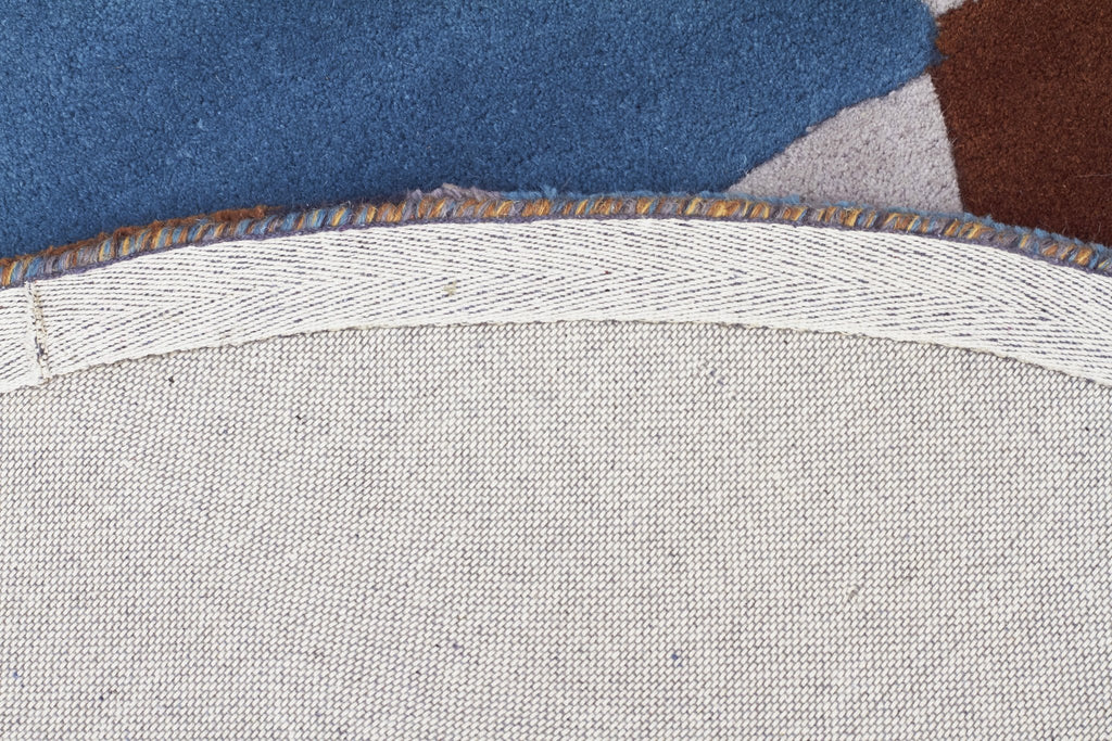 Matrix Pure Wool Safari Round Rug