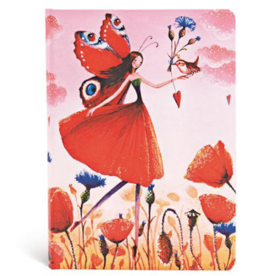 Mila Marquis Poppy Field, Midi Lined Flexible Notebook Paperblanks