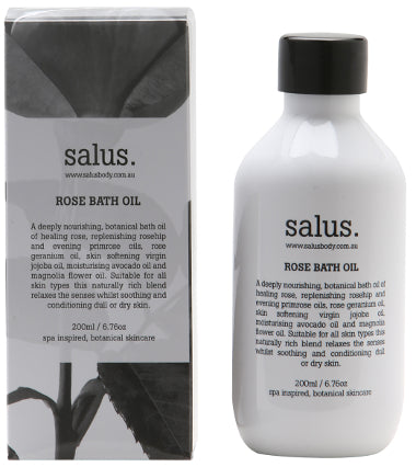 Salus Rose Bath Oil