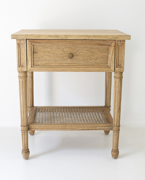 Weathered Oak Hamilton Bedside Table