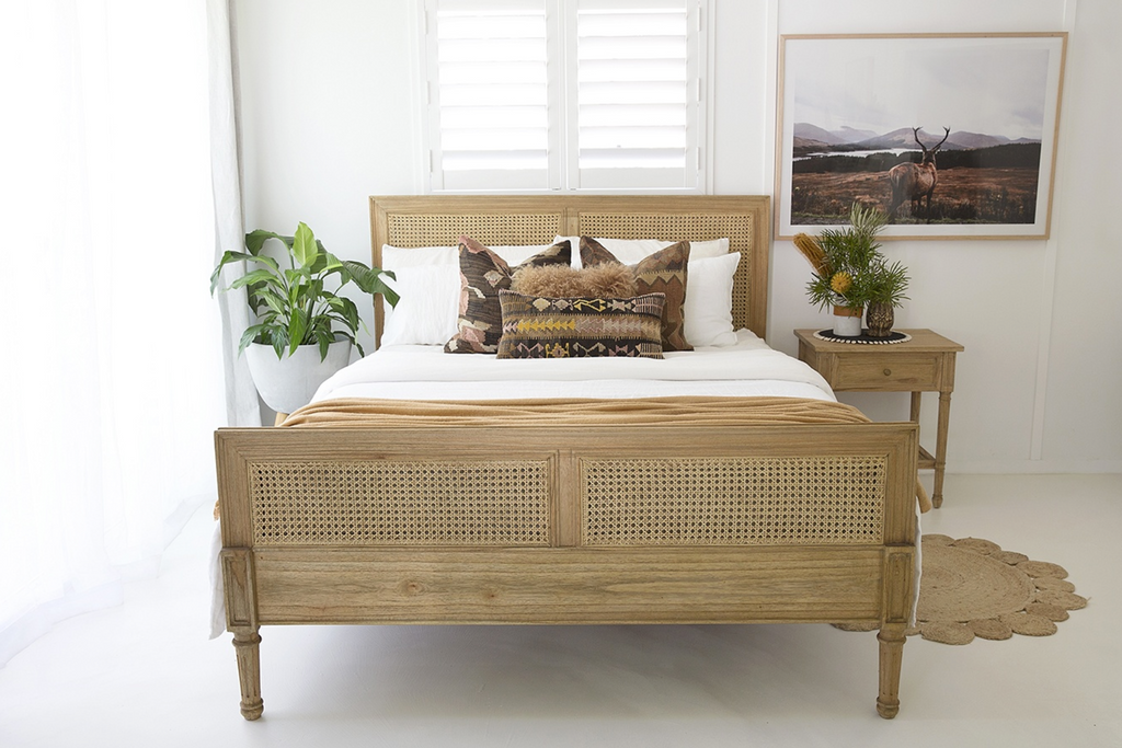 Weathered Oak Hamilton King Size Bed