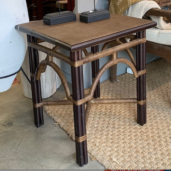 Square Raffles Side Table