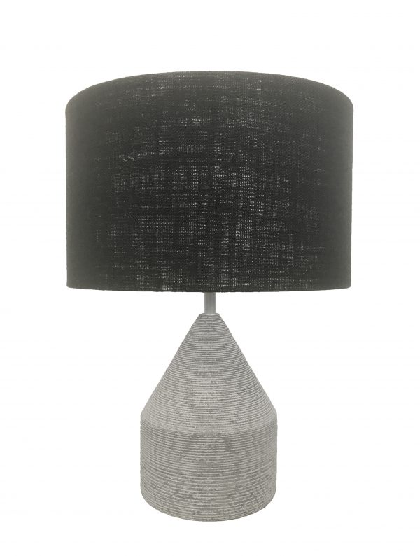 Anders Stone Lamp Small Grey