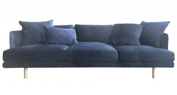 Cody Sofa Navy Velvet