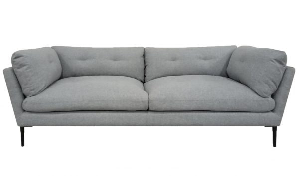 Wesley Sofa Pale Grey Marle