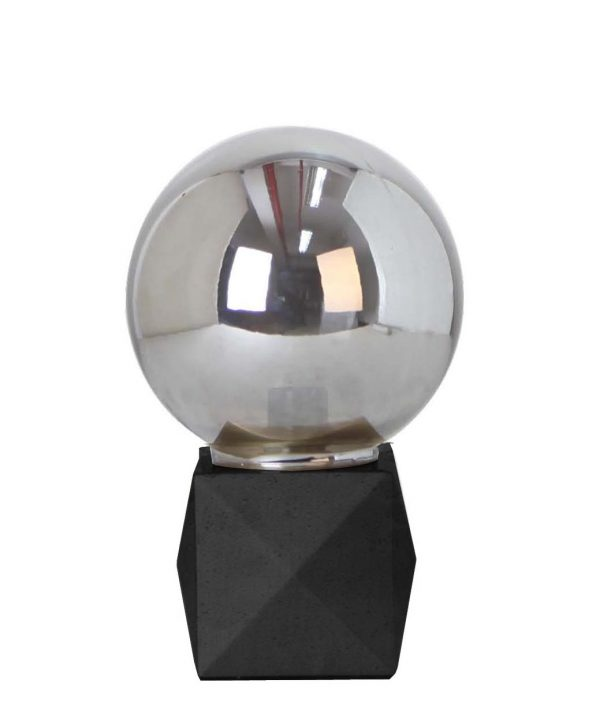 Deca Lamp Black Concrete