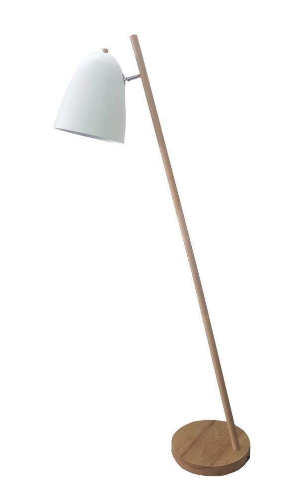 Poppy Floor Lamp White