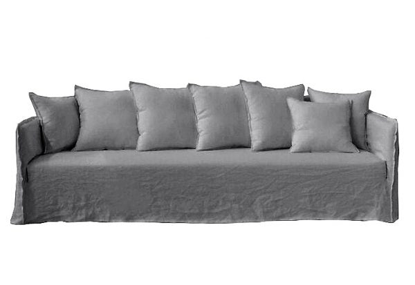 Casper Sofa Grey Linen