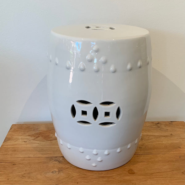 Porcelain Stool White
