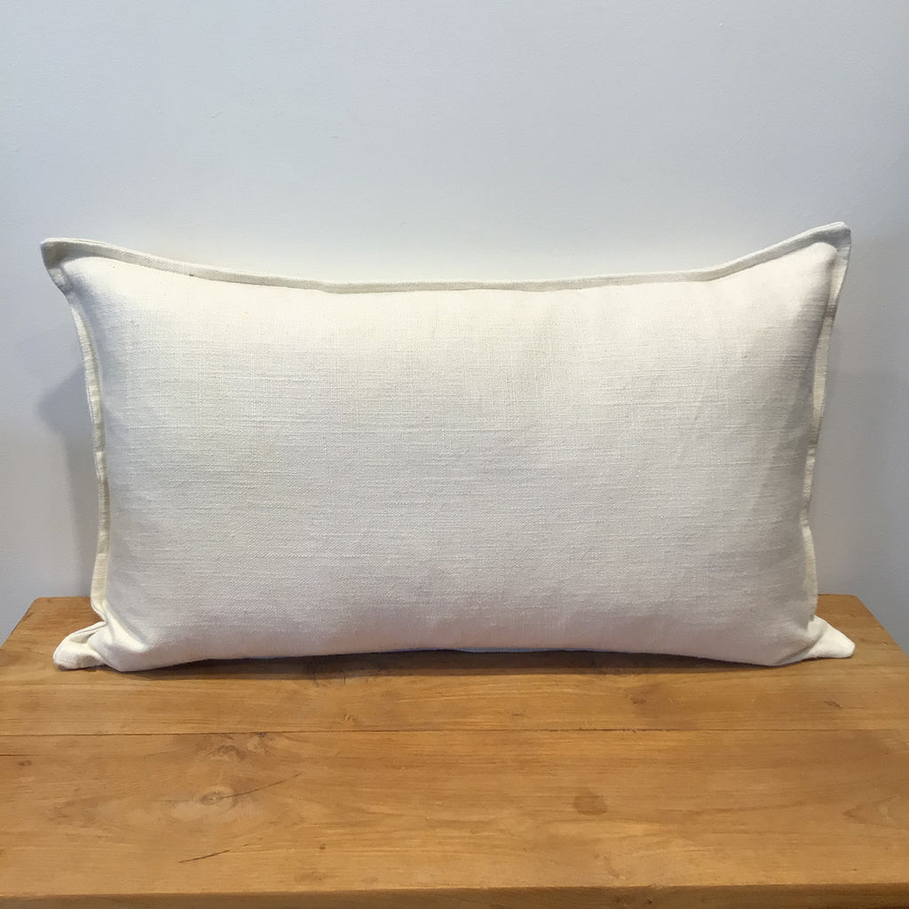 Cream Lumbar Cushion Cover