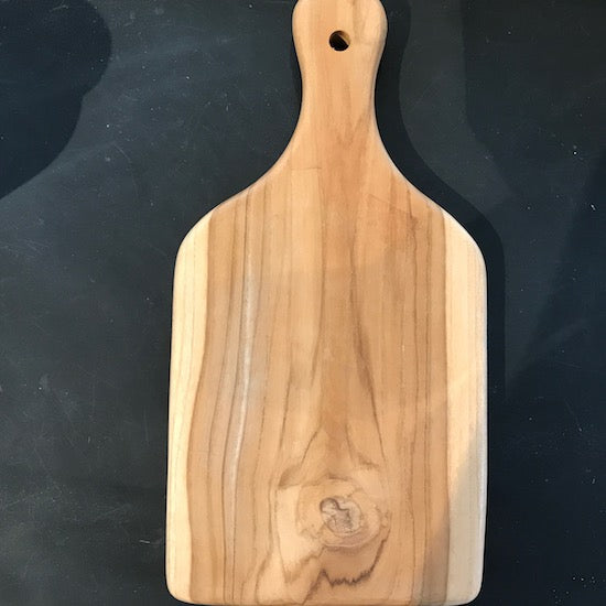 Small wooden chopping board