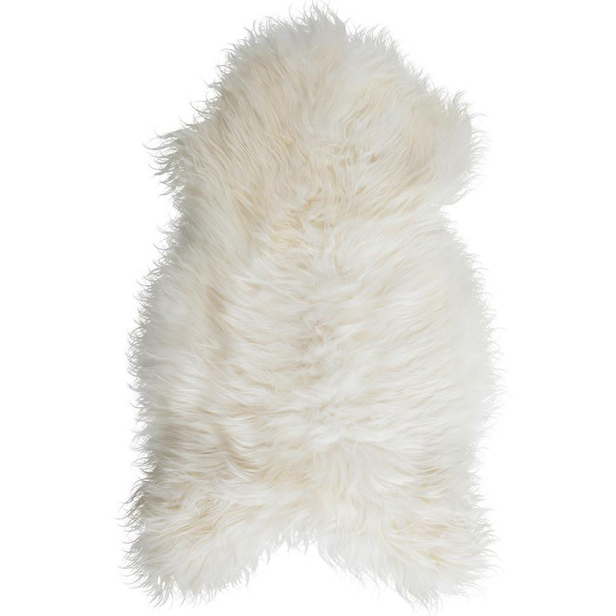 LUXE LOVER Icelandic SHEEPSKIN White