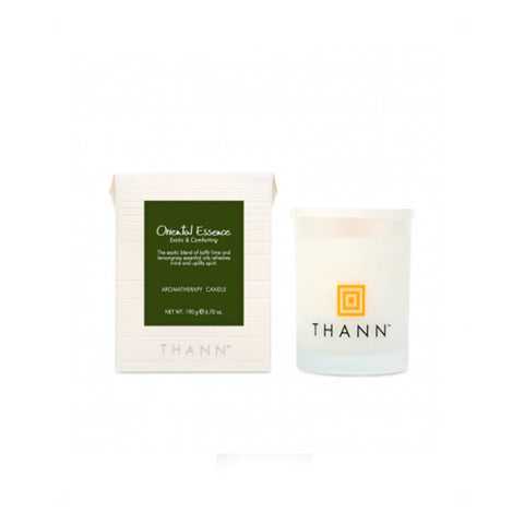 Oriental Essence Aromatherapy Candle 190g - THANN