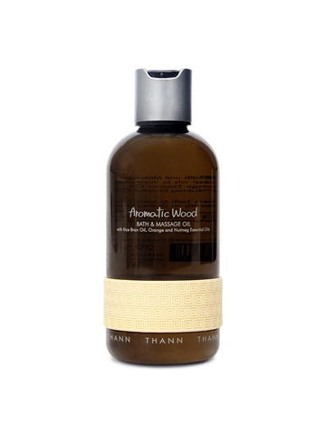 Aromatic Wood Bath & Massage Oil 295ml - Thann
