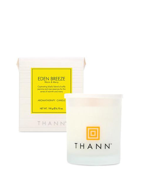 Eden Breeze Aromatherapy Candle 190g - Thann