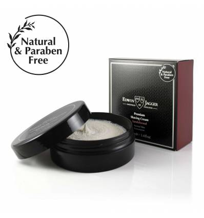 Natural Premium shaving cream, Sandalwood, 100ml/3.4fl oz bowl