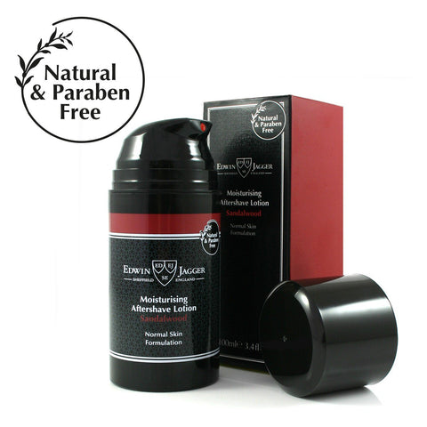 Natural After Shave lotion, Sandalwood, 100ml/3.4fl oz