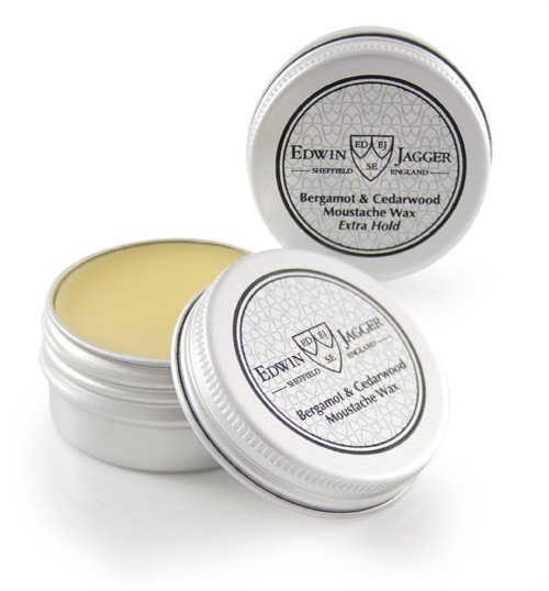 Moustache Wax, Bergamot and Cedarwood, 15ml/0.5fl oz pot - Edwin Jagger