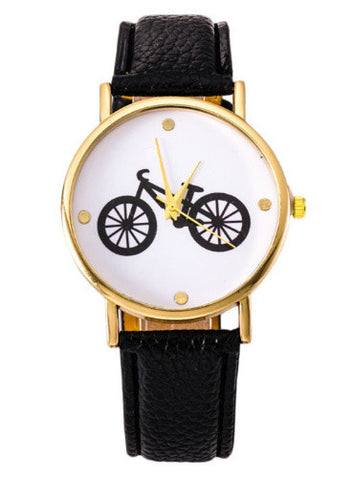 Bicycle Watch in Black
