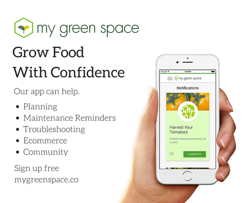 Grow Food With Confidence. Our App Can Help. Visit www.mygreenspace.co to sign up for early access