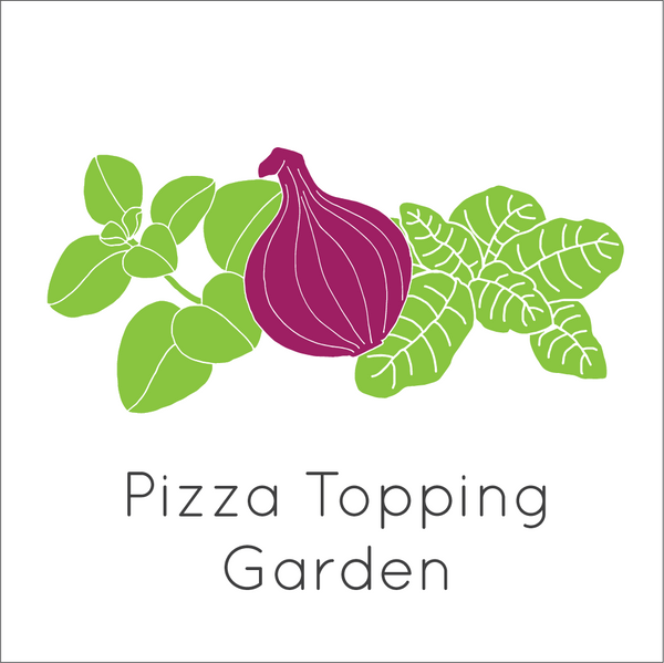 Pizza Topping Garden Seed Bundle - Large