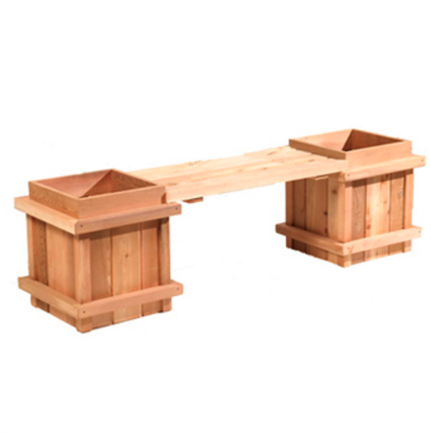 Cedar Bench Planter Kit