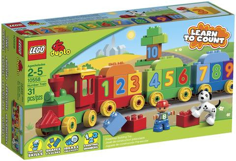 Lego 10558 Duplo Number Train