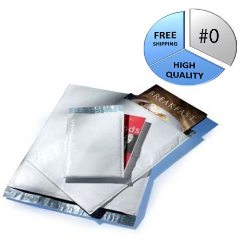 500 #0 POLY 6x10 Quality Bubble Mailers Envelopes Bags