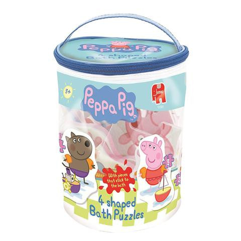 Jumbo Peppa Pig 4 in 1 Bath Puzzle