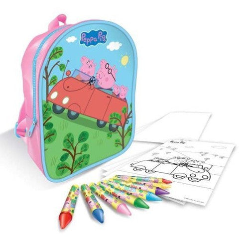 Copywrite Designs Peppa Pig Stationary Filled Backpack - Fantastic Gift