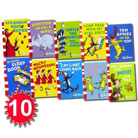 HarperCollins A Classic Case of Dr. Seuss 10 Books Collection Pack