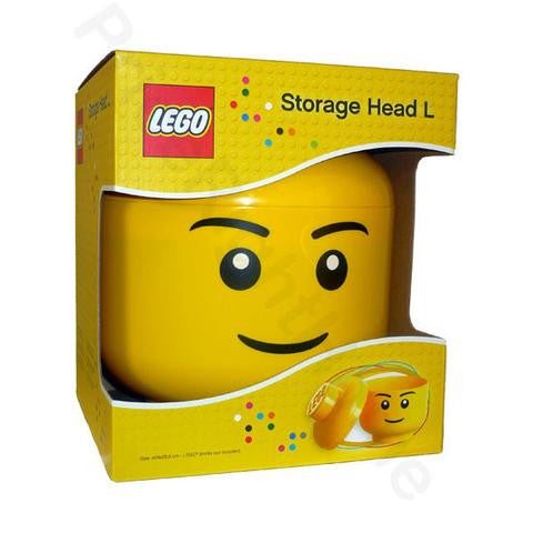 LEGO Boy Storage Head - Large