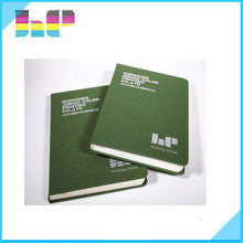 Customized Printed Cloth Cover Notebook ,Drawing Book Printing Service