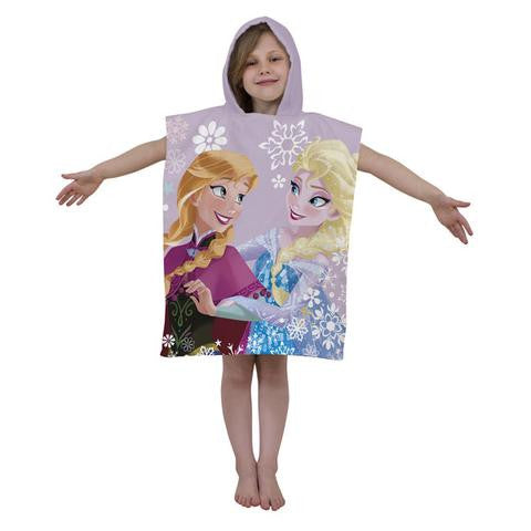Character World Disney Frozen Crystal Hooded Poncho