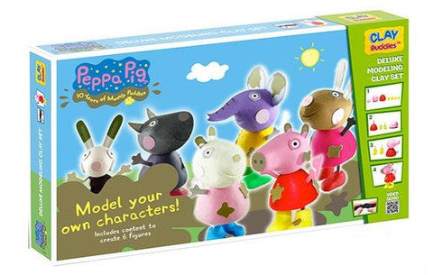 Clay Buddies Super Pack (Clay Buddies) the Peppa Pig S2
