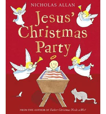 Red Fox Christmas Picture Book Collection - Jesus' Christmas Party