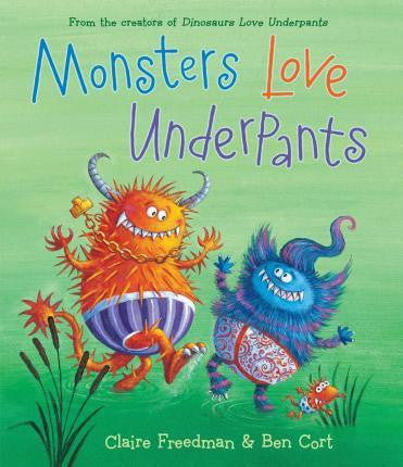 Simon & Schuster Aliens Love Underpants Collection - Monsters Love Underpants