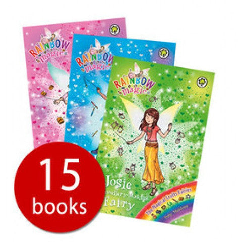 Orchard Rainbow Magic Series 21-23 Collection - 15 Books