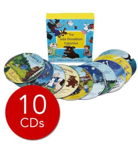 Pan Macmillan Julia Donaldson Audio Collection - 10 CDs
