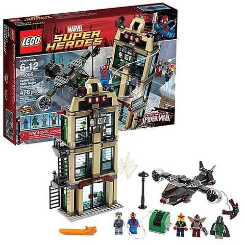 LEGO 76005 Spider-Man : Spider-Cycle Chase