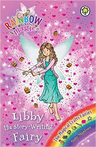 Orchard Rainbow Magic Series 21-23 Collection - Libby the Story-Writing Fairy