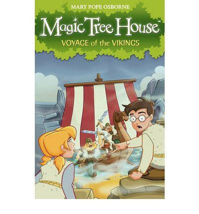 Red Fox Magic Tree House Collection - Voyage of the Vikings