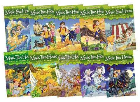 Red Fox Magic Tree House Collection - 10 Books