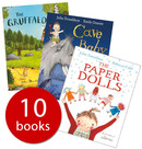 Playep Toys Julia Donaldson Book Collection II - 10 Books