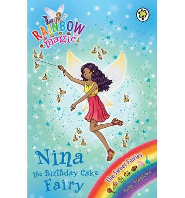 Hachette Children's Group Rainbow Magic Series 18-20 Collection - Nina the Birthday Cake Fairy