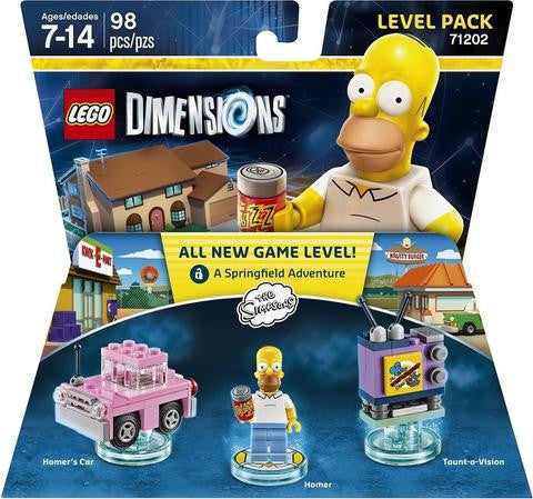 LEGO 71202 LEGO Dimensions The Simpsons Level Pack