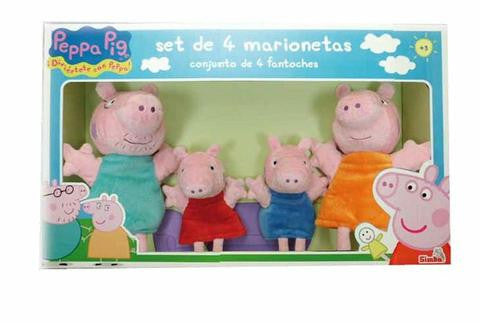 Peppa Pig September 4 Puppets